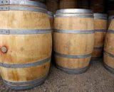Oak barrels treated 225L