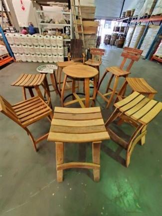 Oak Barrel Furniture